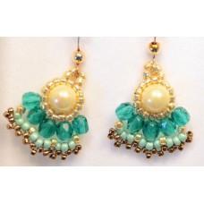 Earrings by Tamar Keny