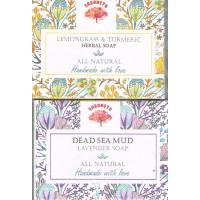 Set of soap - Lemongrass & Turmeric and Lavender